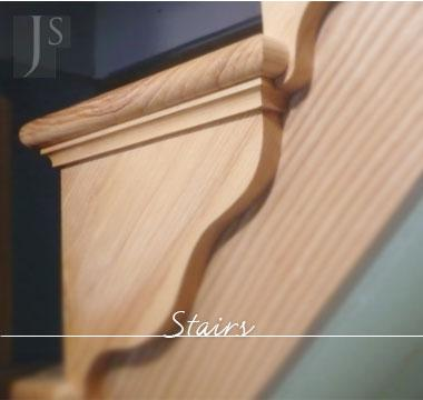 Graphic link to J Simpson Stairs page